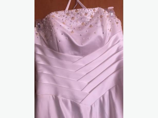 Wedding dress sz 18 esquimalt view royal victoria for Used wedding dresses victoria bc