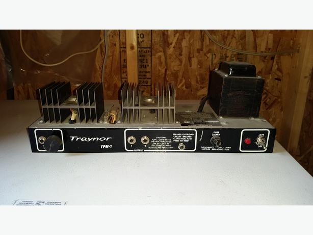 Apologise, vintage traynor amplifiers really