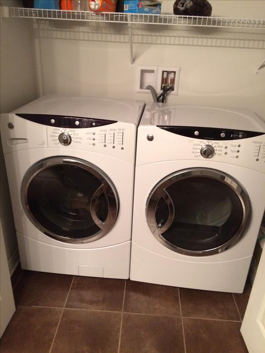 Front Load Ge Washer And Dryer Hull Sector Quebec