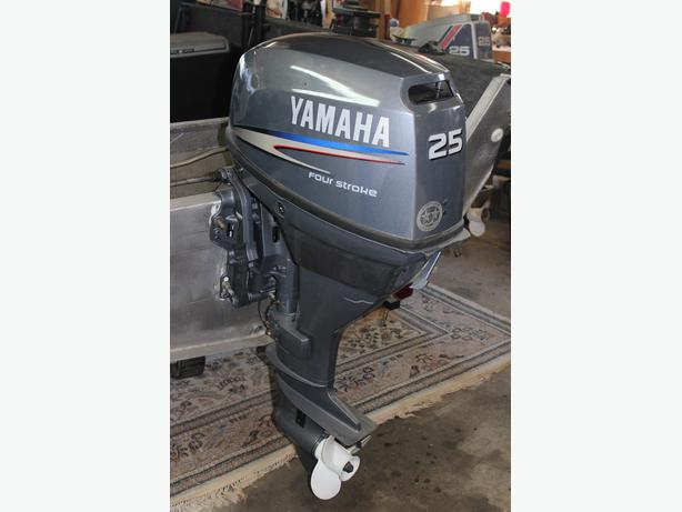 Yamaha 4 stroke 25 hp south nanaimo nanaimo mobile for 25hp yamaha 2 stroke
