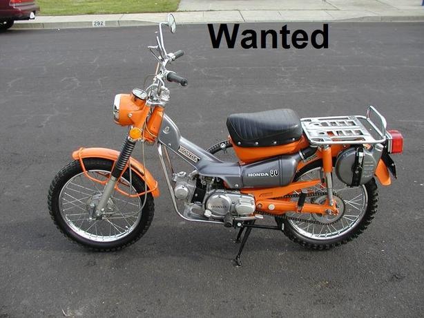 Wanted Honda Ct90 Or Ct110 Trail Bike Outside Victoria