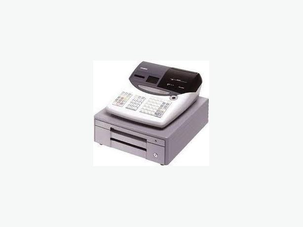 CASH REGISTER - PCR T2000, USED, THERMAL,2 TAPE, PROGRAMMED, KEY