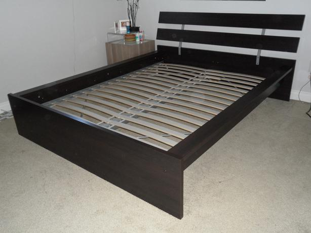 Ikea Malm Bed - Queen, 3 years old
