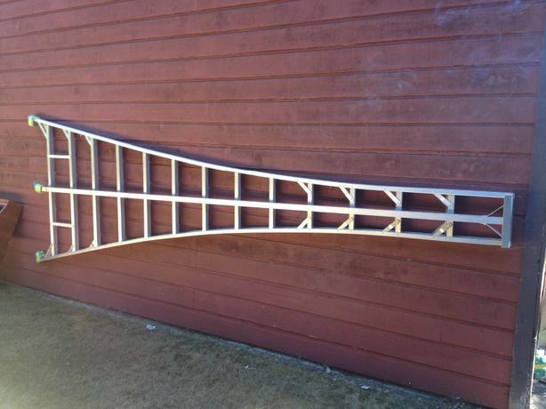 14 Ft Aluminum Ladders : Ft titan aluminum orchard ladder cobble hill cowichan