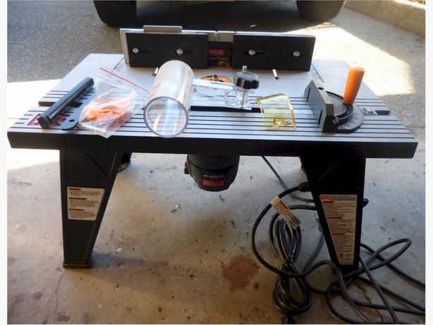 ryobi router and router table combo