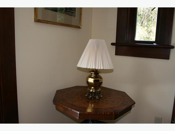 Brass Table Lamp West Shore LangfordColwoodMetchosin