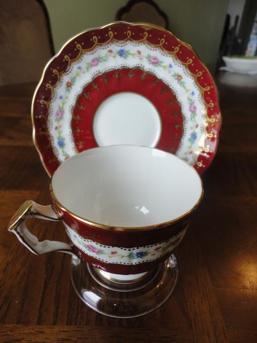 Eighth Lot Of Vintage England Bone China Tea Cup Amp Saucer