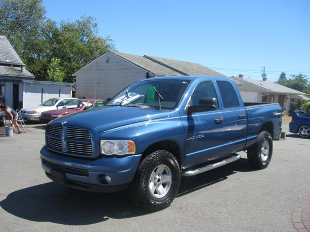 2003 Dodge Ram 1500 4x4 Outside Comox Valley Campbell River
