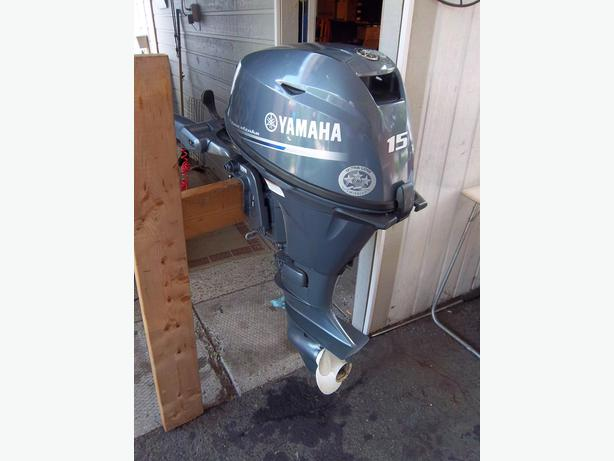 2012 yamaha 15 hp four stroke boat motor orleans ottawa for Used yamaha 4 stroke outboard motors for sale