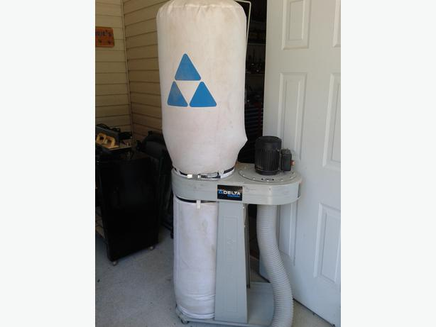 Delta 1HP Dust Collection System 650 CFM Langley, Vancouver - MOBILE