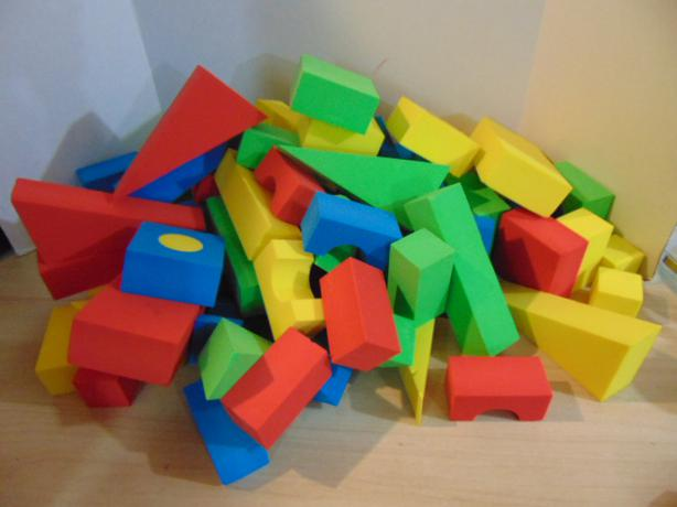 Extra Large Outside Building Blocks For Kids