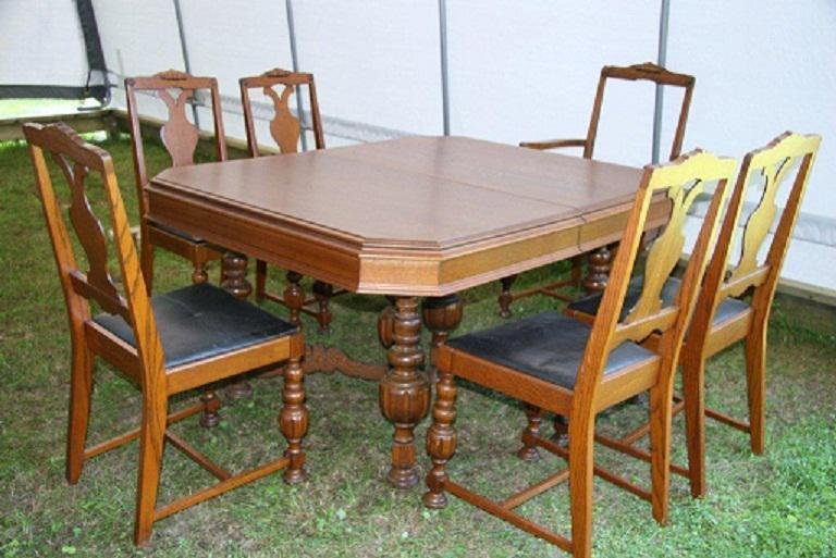 Antique Dining Table amp Chairs Outside OttawaGatineau Area  : 47816823934 from www.usedottawa.com size 768 x 513 jpeg 67kB