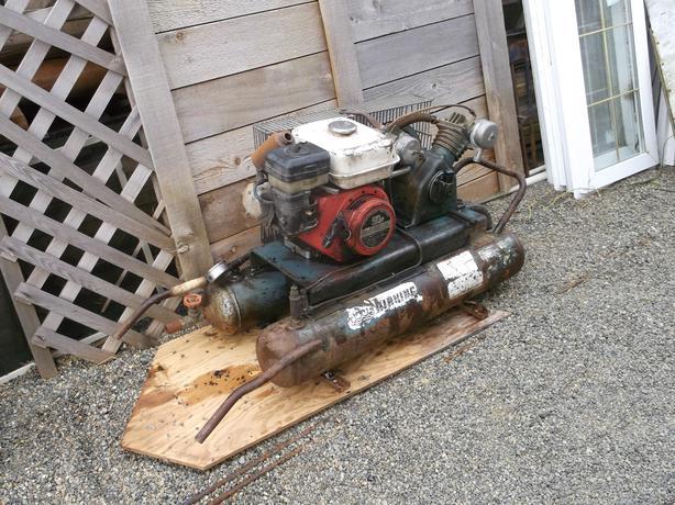 King Air Air Compressors : Air king compressor hp honda north nanaimo parksville