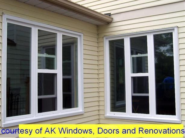 Professional WINDOWS & DOORS installation, siding, soffit fascia