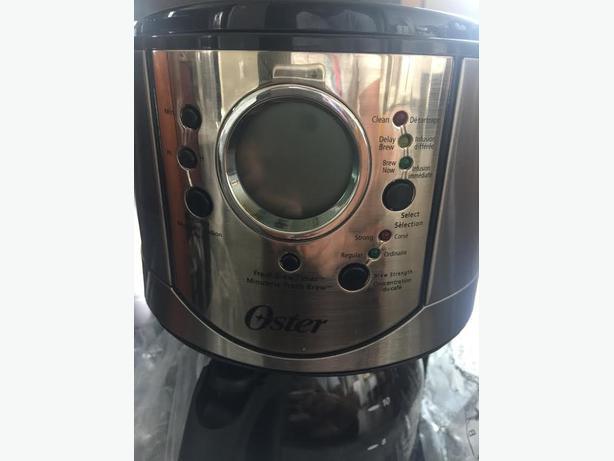 Oster Coffee Maker The Bay : Betty Crocker and Oster coffee maker for sale!!! North Nanaimo, Parksville Qualicum Beach
