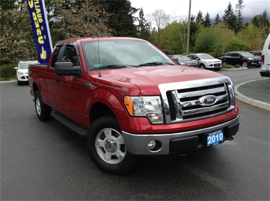 2010 ford f 150 xlt super cab 4x4 local b c truck duncan cowichan mobile. Black Bedroom Furniture Sets. Home Design Ideas