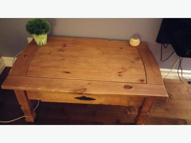 Pier 1 Imports Wooden Coffee Table And End Table For Sale Orleans Ottawa