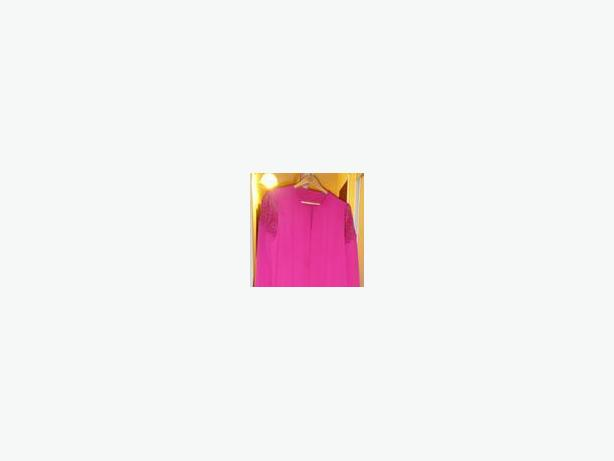 LADIES FUSHIA COCKTAIL DRESS SIZE 18