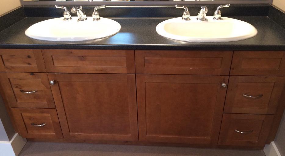 Double Bathroom Vanity Saanich Victoria