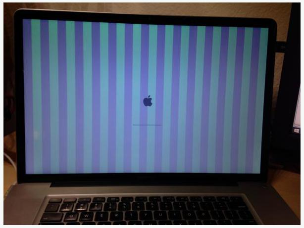 how to fix my macbook pro blue screen