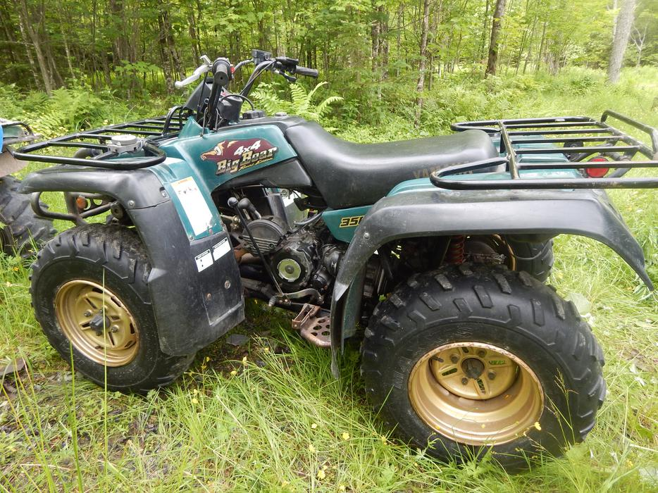 furthermore  furthermore S L as well S L also S L. on 1999 yamaha big bear 350
