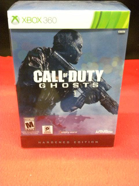Call Of Duty Ghosts Metalbook Hardened Edition For Xbox 360 Victoria City Victoria