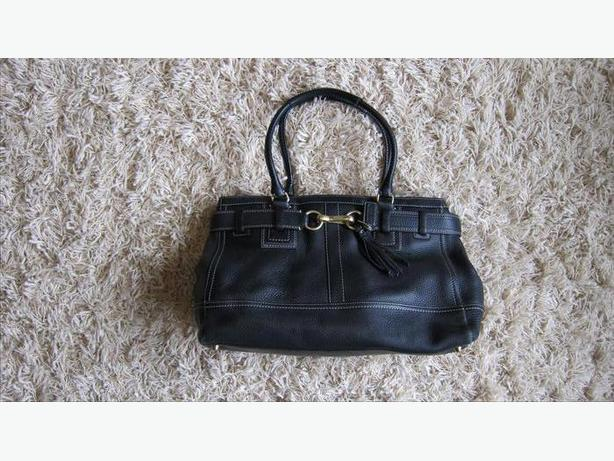 e0bc048efec5 Coach Classic Black Leather Tote Large Central Saanich