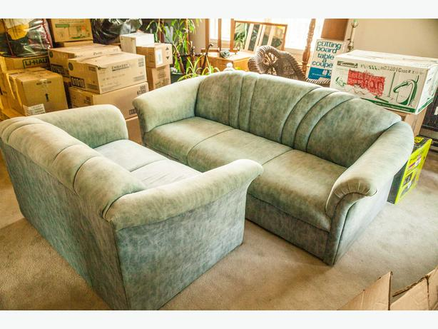Free Couch And Love Seat Matching Pick Up By July 8th