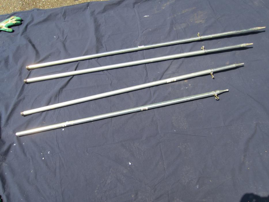 Metal Adjustable Poles For Tent Tarp Rv Canopies Saanich