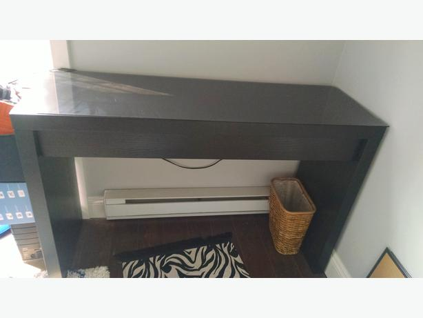 Floor Lamps Ikea Philippines ~ Ikea malm dressing table black brown Central Saanich, Victoria