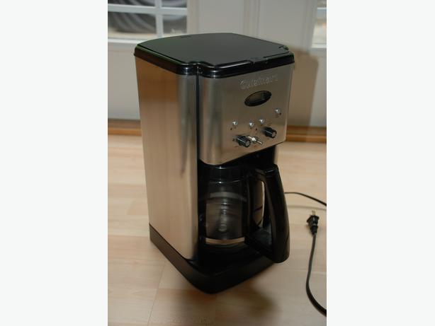 Cuisinart Coffee Maker Hot Water Manual : Cuisinart Brew Central Coffeemaker (almost new, programmable) Coquitlam (incl. Port Coquitlam ...