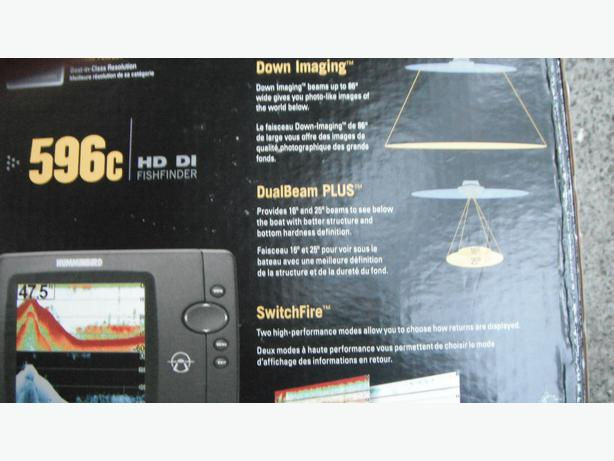 top of the line humminbird fish finder 596c hddi saanich, victoria, Fish Finder