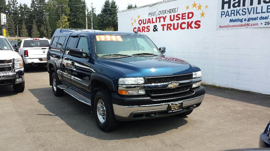 Used 2002 Chevrolet Silverado 2500hd For Sale In