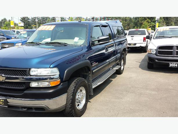 used 2002 chevrolet silverado 2500hd for sale in parksville parksville nanaimo. Black Bedroom Furniture Sets. Home Design Ideas