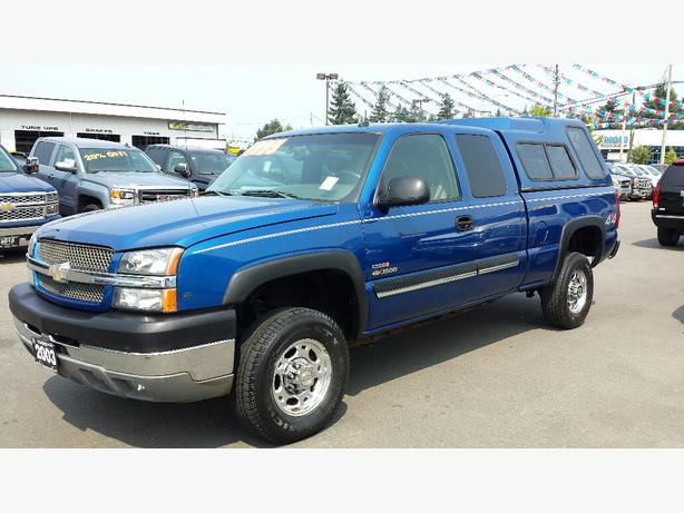 used 2003 chevrolet silverado 2500hd for sale in parksville parksville nanaimo. Black Bedroom Furniture Sets. Home Design Ideas