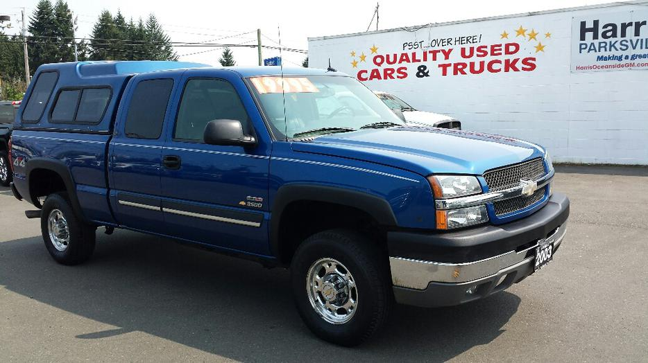 Chevrolet Silverado 2500hd Gatineau >> USED 2003 CHEVROLET SILVERADO 2500HD FOR SALE IN PARKSVILLE Parksville, Nanaimo
