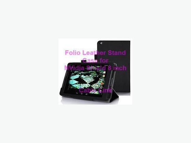 New Folio Flip Leather Stand Case for Nvidia Shield Tablet 8.0