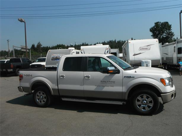 2010 ford f 150 lariat crew cab short box 4wd outside cowichan valley cowichan mobile. Black Bedroom Furniture Sets. Home Design Ideas