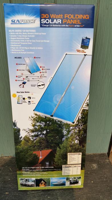 30 Watt Solar Panels Saanich Victoria