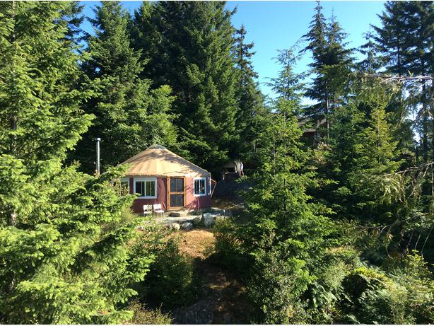 Deluxe 24 Pacific Yurt For Sale On Salt Spring Island