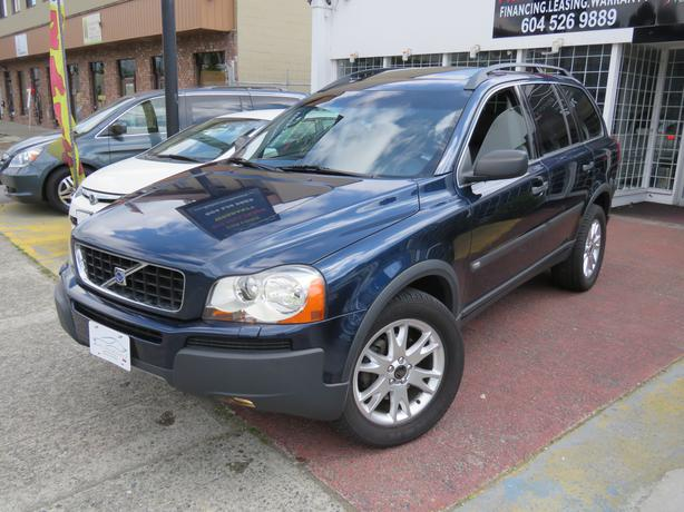 2004 volvo xc90 t6 awd navigation no accident local low km outside victoria victoria. Black Bedroom Furniture Sets. Home Design Ideas