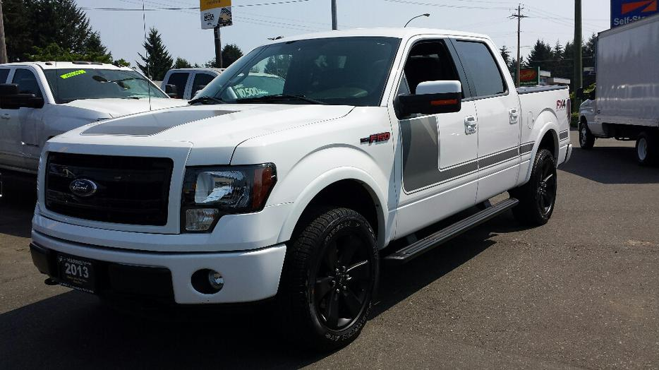 used 2013 ford f 150 super crew fx4 for sale in parksville outside cowichan v. Cars Review. Best American Auto & Cars Review
