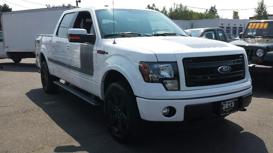 used 2013 ford f 150 super crew fx4 for sale in parksville outside cowichan valley cowichan. Black Bedroom Furniture Sets. Home Design Ideas