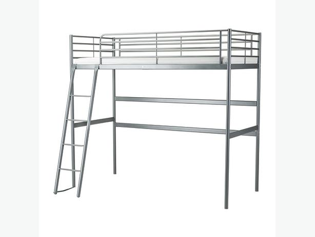 ikea loft bed silver with mattress oak bay victoria. Black Bedroom Furniture Sets. Home Design Ideas