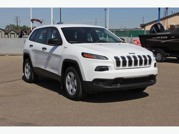 2014 jeep cherokee sport 4x4 outside south saskatchewan regina. Cars Review. Best American Auto & Cars Review