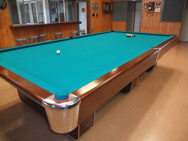 6 39 x 12 39 slate pool table duncan cowichan for 1 piece slate pool table