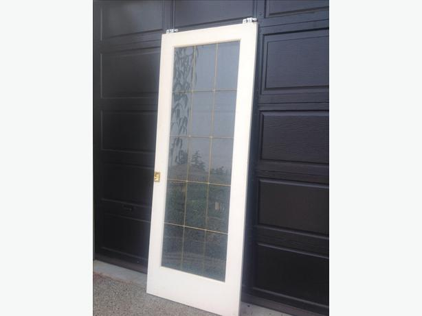 Pocket door 30 x 80 saanich victoria for 15 panel solid wood door