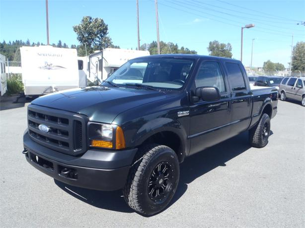 2006 ford f 250 sd xl crew cab 4wd short box outside calgary area calgary. Black Bedroom Furniture Sets. Home Design Ideas