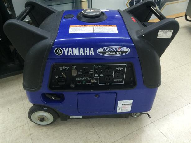 Yamaha ef3000ise 3 000w 171cc 4 stroke portable inverter for Yamaha ef3000ise inverter generator