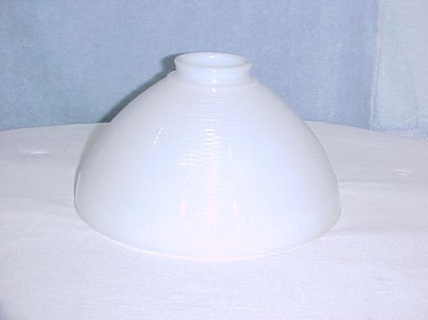 Vintage 10 Inch White Milkglass Glass Torchiere Floor Lamp